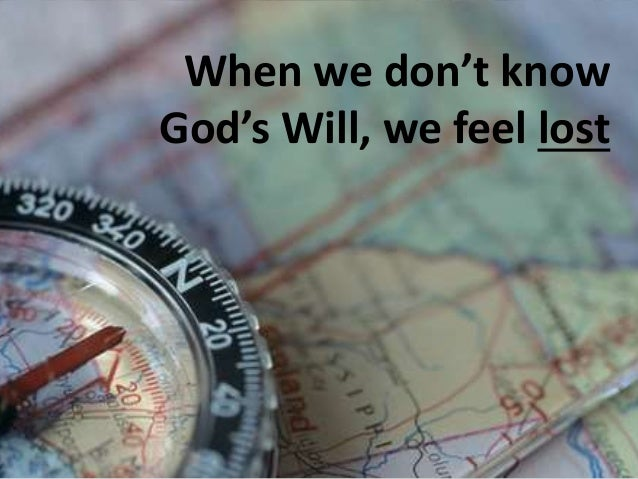 How to Know God's Will Slide 3