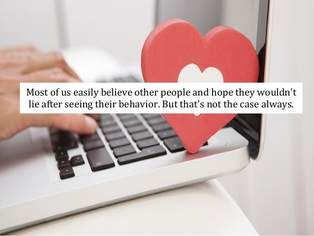 How common is dishonesty online dating