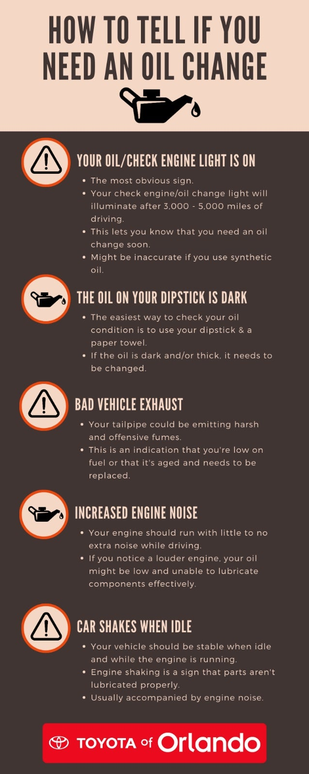 How to Know if You Need an Oil Change