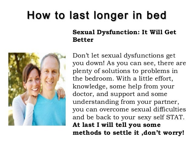 how to last more in bed