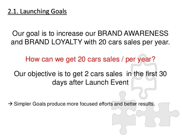 How To Launch A Brand New Car