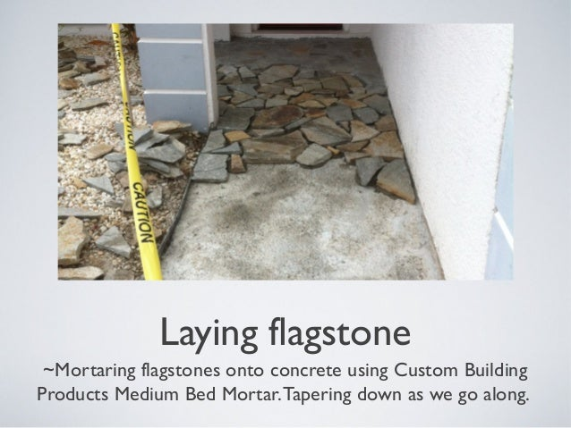 diy flagstone walkway how to lay a flagstone walkway