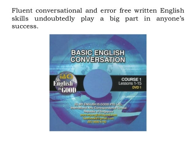 How to learn english with conversation