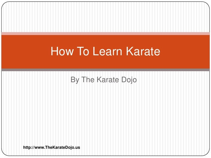 how to learn karate fast