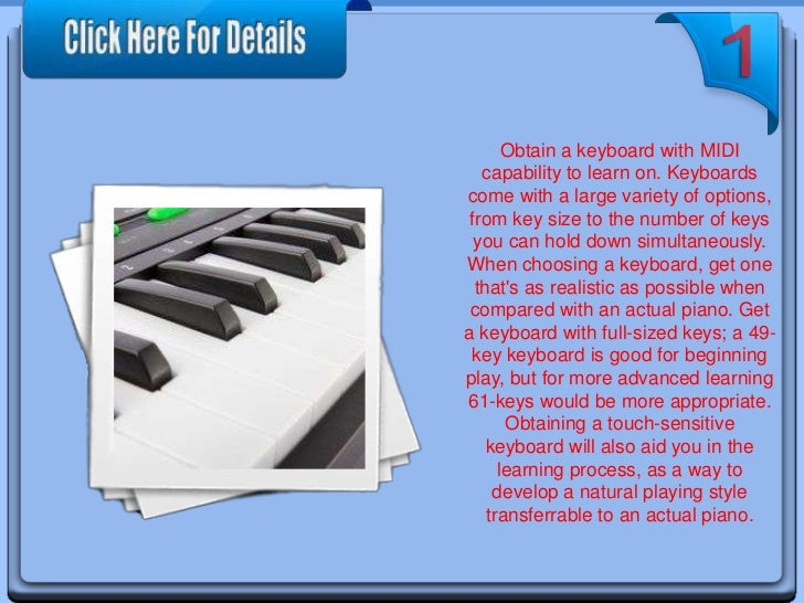 How to Learn Piano by PC Slide 3