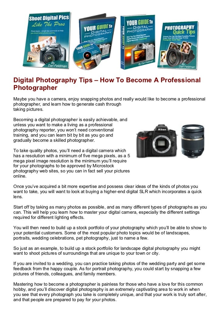 #1 FREE Photography Course website | Best Photography ...