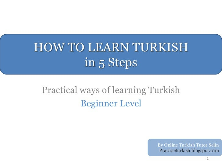 learning turkish for beginners pdf