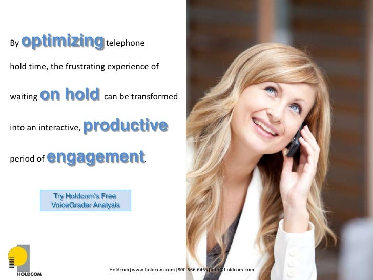 How to Leverage Audio Marketing for Your Healthcare Facility Part I- Telephony Slide 2