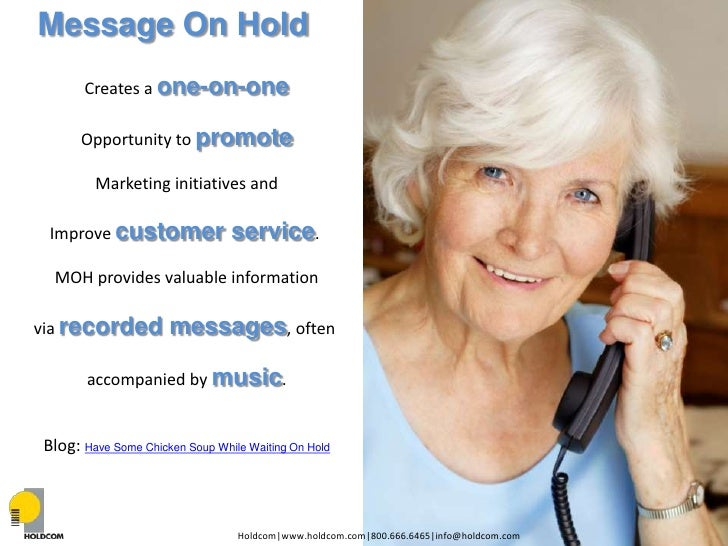 How to Leverage Audio Marketing for Your Healthcare Facility Part I- Telephony Slide 3
