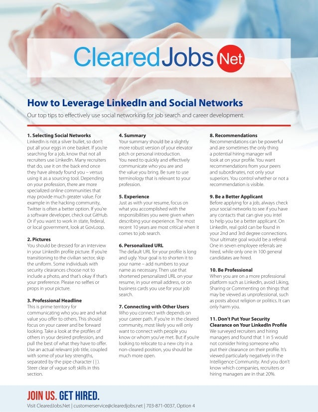 How to Leverage LinkedIn and Social Networks