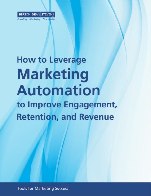 Marketing Automation Programs to Improve Revenue Today's customers are always on and connected across every channel - both...
