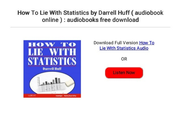 how to lie with statistics online book