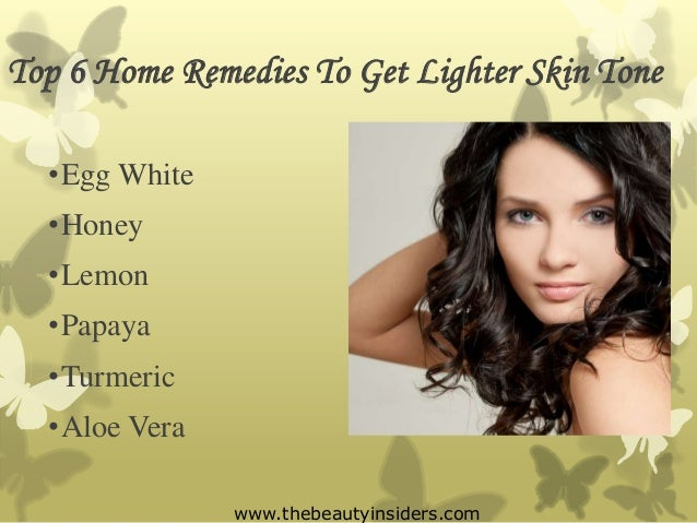 How To Make Your Skin Whiter Naturally At Home