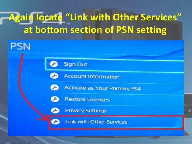 Sony PS4/PSN: How to connect with FACEBOOK and Twitter