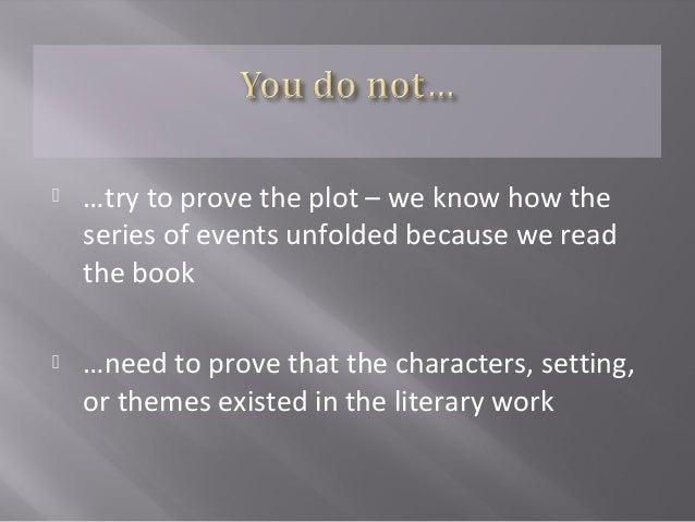 how to write literature essays