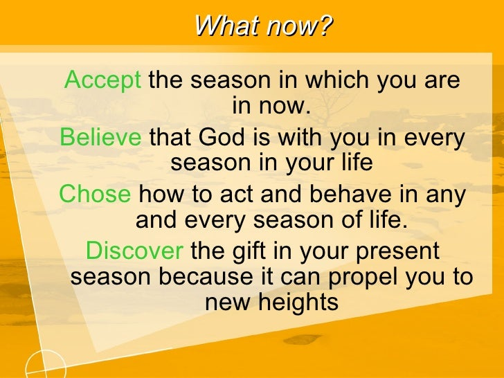 How to live in each season of life ecclesiastes 3 1 11