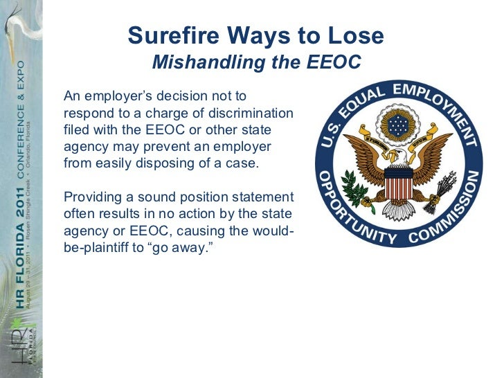 Position statement template eeoc sexual harassment