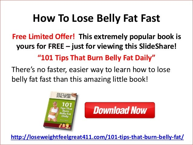 Ways to get rid of your stomach fat fast picture 1