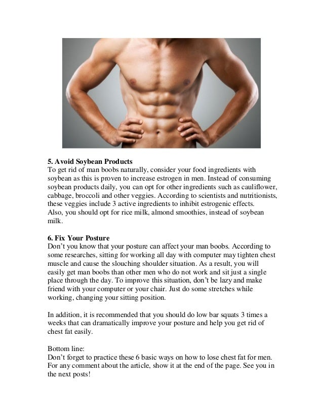 Rid Of Chest Fat