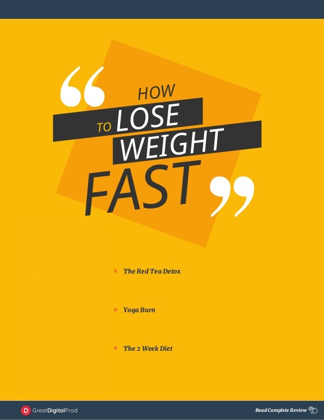 How To Lose Weight As Fast As Possible 1 Guide 2018