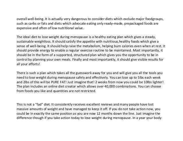 Fat loss essay