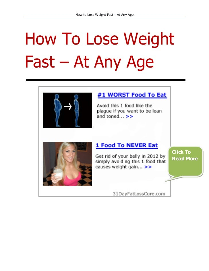How To Lose Weight Rapidly - kindlsugar