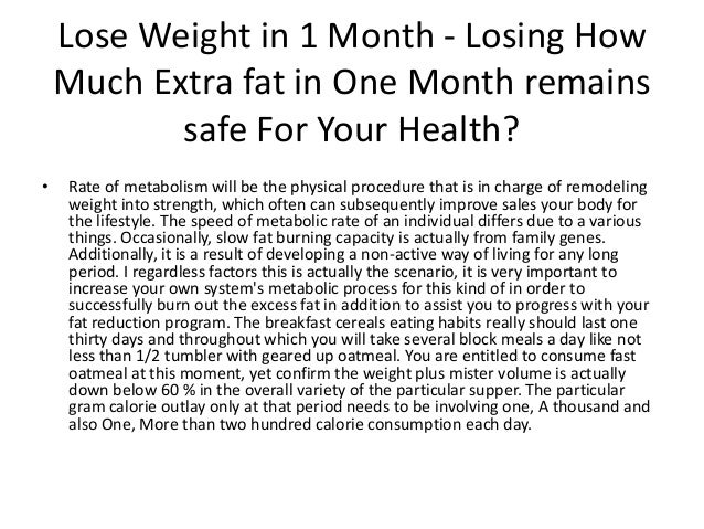 How to lose weight in one month lose weight in 1 month losing how ccuart Choice Image