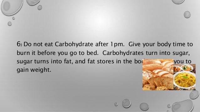 Dinner diet to lose weight
