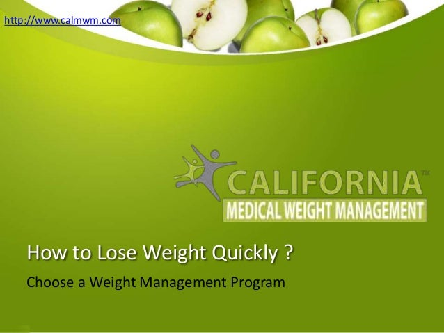 An analysis of how to lose weight easily