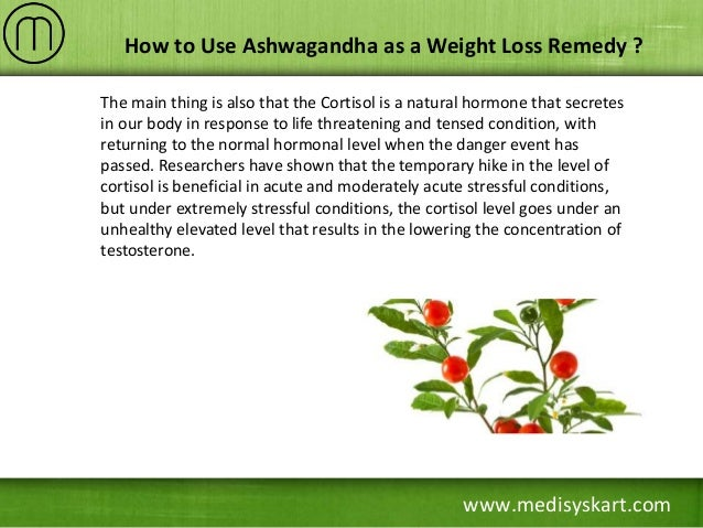 Ashwagandha For Weight Loss Review - Nootriment