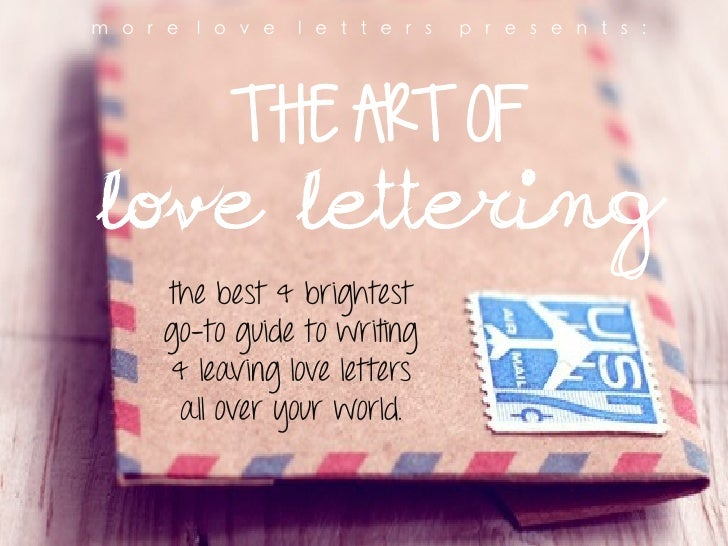6 Essential Ingredients of an Impressive Romantic Love Letter