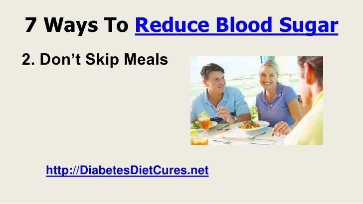 how to help high blood sugar