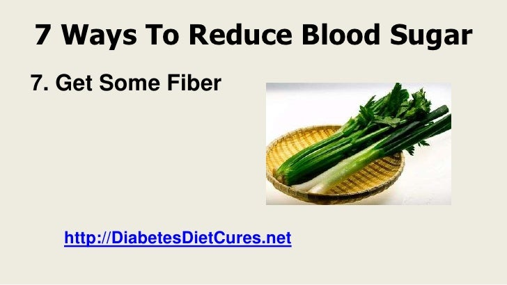 Natural Ways To Reduce Blood Sugar Quickly