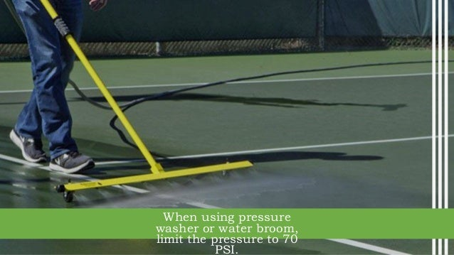 How To Maintain An Acrylic Tennis Court Surface