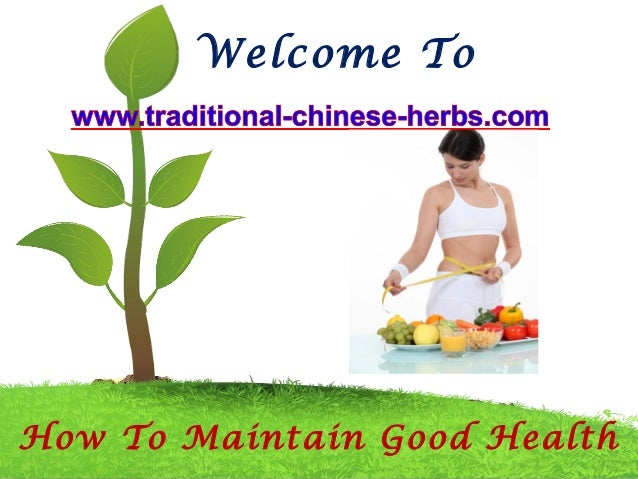 how to maintain a good health Systematic activities to prevent or cure health problems and promote good health in humans are undertaken by achieving and maintaining health is an ongoing.