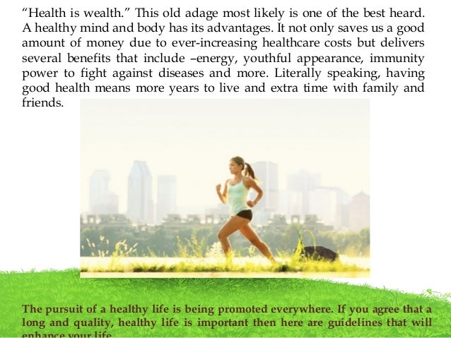 how to maintain a good health Everyone knows that eating a balanced diet, exercising and getting plenty of rest  are key to maintaining good health however, that can seem to be an.