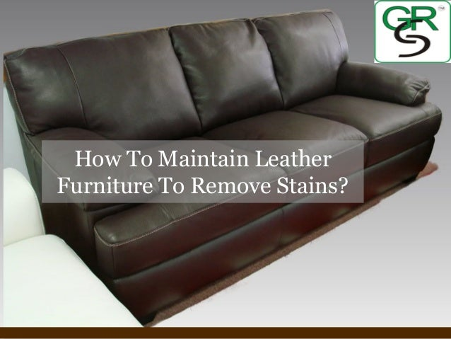 powerpoint templates page 1 how to maintain leather furniture to remove stains