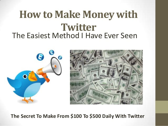how to make money u tube
