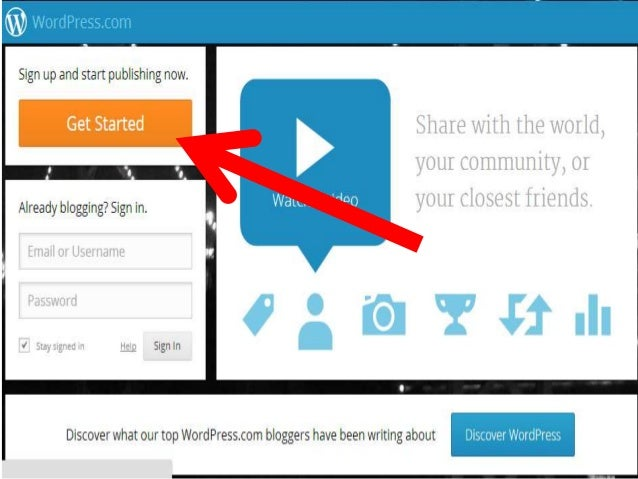 How To Make A Blog >> How To Make A Blog In Wordpress