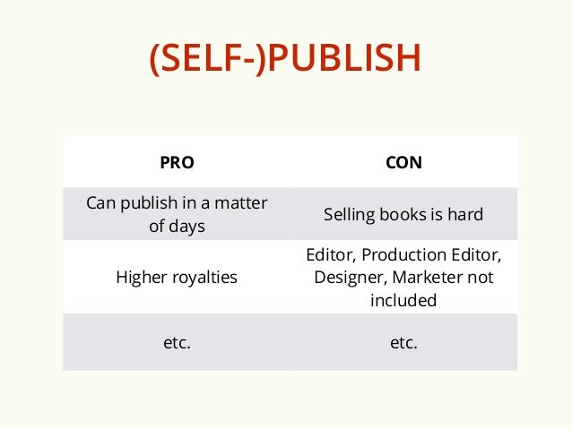 How to Make Publishing