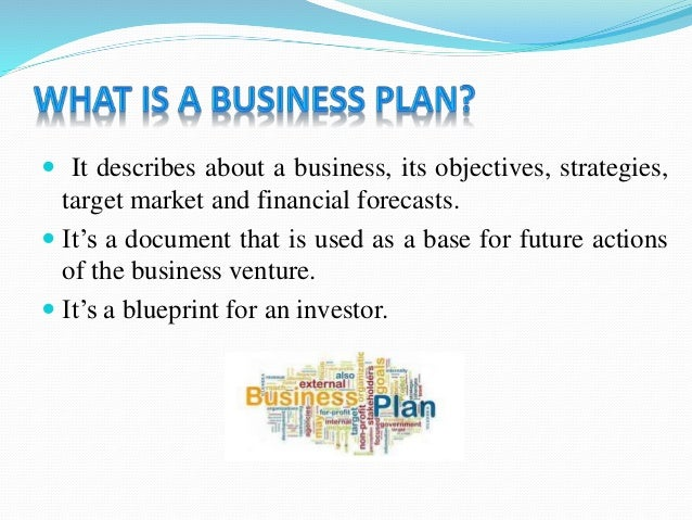 business plan for financial services