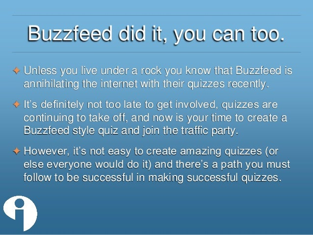 Buzzfeed Hairstyle Quiz How To Make A Buzzfeed Style Quiz