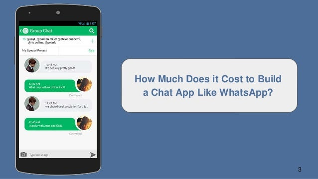 How to make a chat application like whatsapp viber line wechat 3 how much does it cost to build a chat app like whatsapp ccuart Gallery