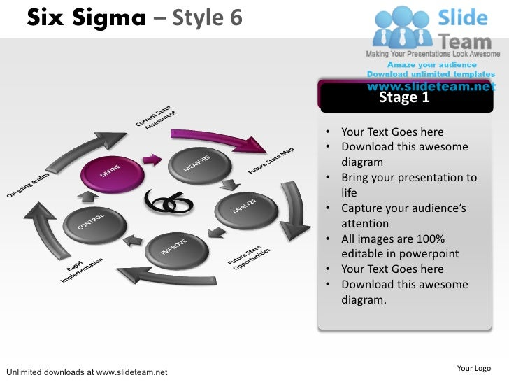 How To Make Achievement Six Sigma 6 Power Point Slides And