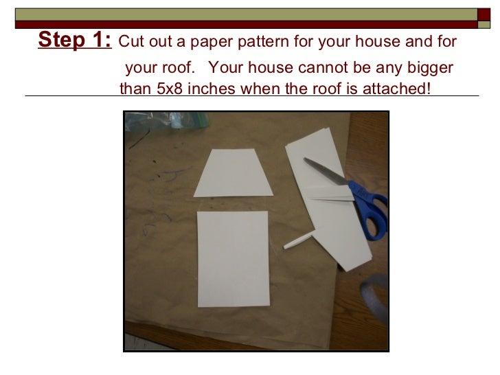 How To Make A Clay Slab House Façade. Clay Slab Method. 2.