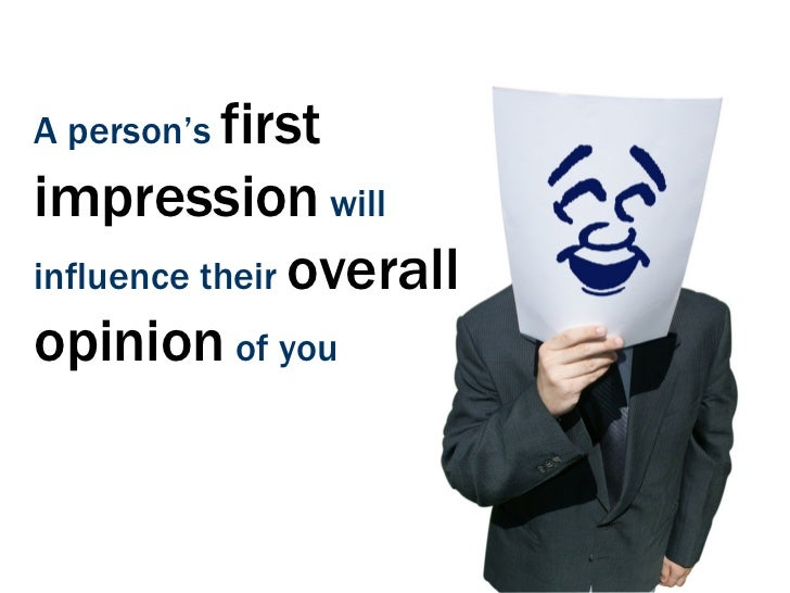 ones first impression of - photo #12