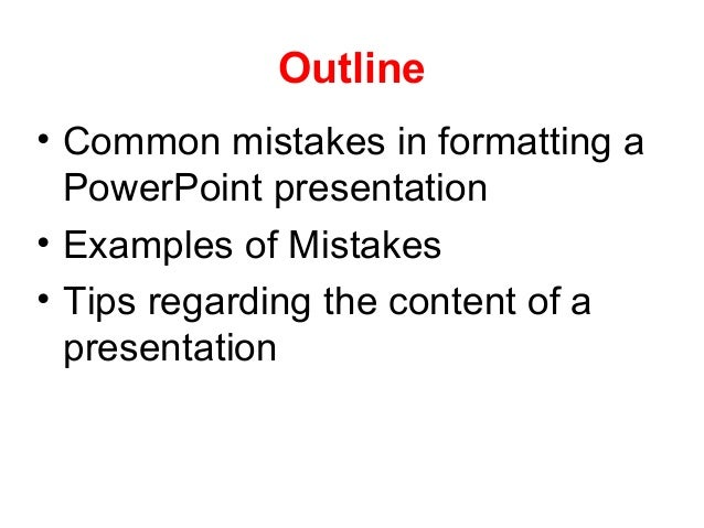 How to make a good power point presentation