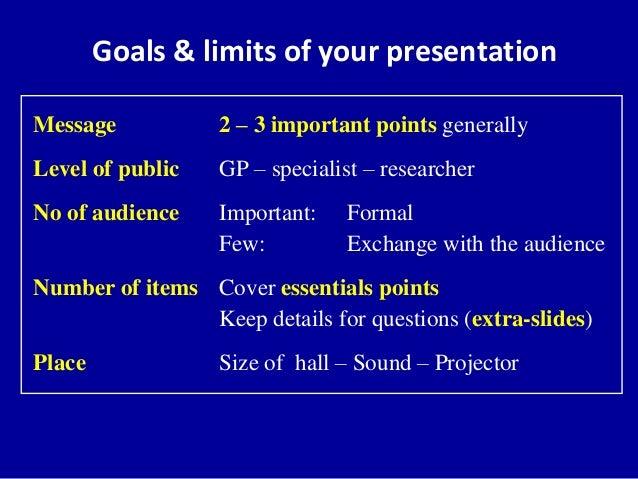 bad presentation
