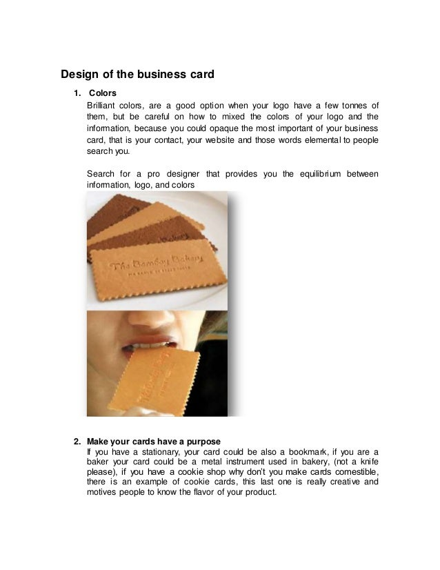 How to make a great first impression with business cards