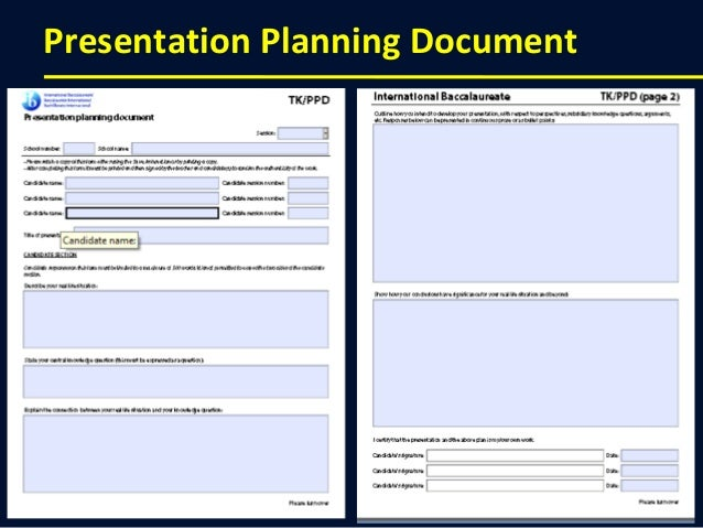 Tok Essay Planning Form Example - image 8